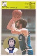 BRANKO SKROCE CARD-SVIJET SPORTA (B230) - Basket-ball