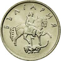 Monnaie, Bulgarie, 10 Stotinki, 1999, Sofia, SPL, Copper-Nickel-Zinc, KM:240 - Bulgarie