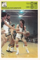DRAGAN KICANOVIC CARD-SVIJET SPORTA (B232) - Basket-ball