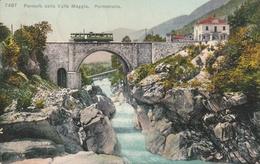 Ferrovia Della Valle Maggia. Pontebrolla - Switzerland