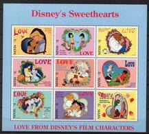NEVIS  Timbres Neufs ** De 1996 ( Ref 5938 ) Disney - St.Kitts-et-Nevis ( 1983-...)