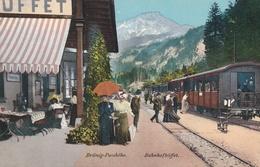 Brunig-Passhohe  - Bahnofbuffet - Switzerland