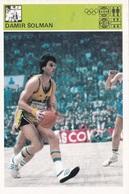 DAMIR SOLMAN CARD-SVIJET SPORTA (B239) - Basket-ball