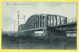 * Boom (Antwerpen - Anvers) * (SBP, Nr 20) Le Pont Du Chemin De Fer, Brug Spoorweg, Canal, Quai, Bridge, TOP, Unique - Boom