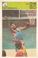 DINO MENEGHIN CARD-SVIJET SPORTA (B240) - Basket-ball