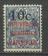 NUEVA HEBRIDES YVERT NUM. 59 * NUEVO CON FIJASELLOS - Leyenda Francesa