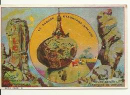 CHROMO FICHE ILLUSTREE / LA PAGODE à KYAUKTAGA - BIRMANIE - Aardrijkskunde
