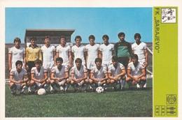 FK SARAJEVO CARD-SVIJET SPORTA (B267) - Soccer
