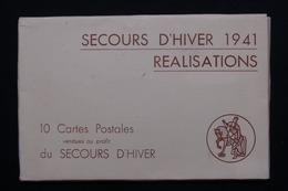Carte Postale - Pochette Du Secours D'hiver 1941 - L 20735 - Patriottisch
