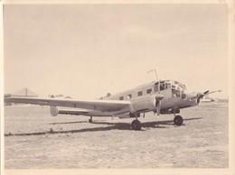 PHOTO 24,2 X 18 Cm DJIBOUTI En 1954/1956 - AVION Monoplan Genre Amiot 354 Bombardier Moyen ? @ FRANCE MILITAIRE AVIATION - Aviation