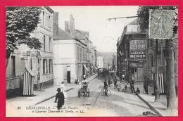 08-Charleville- Faubourg De Flandre-Casernes Dunesme Et Hardy -cpa écrite - Charleville