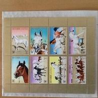 Bahrain Arabian Horses Complete Sheet MNH - Bahreïn (1965-...)