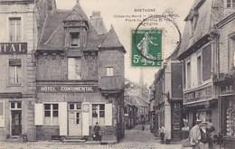 Côte-d'Armor - Paimpol - Place Du Martray Et Rue De L'Eglise - Paimpol