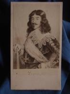 CDV Tirage Albuminé Circa 1865 - Louis XIII L408A - Old (before 1900)