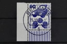 Berlin, MiNr. 409 A, Ecke Links Unten, Gestempelt - [5] Berlin