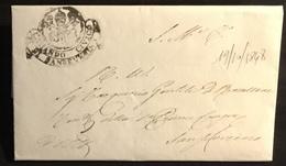 1848 SAN SEVERINO MILITARE PER CITTA' - Italy