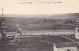 Doubs - Audincourt - Vue De L'Usine Peugeot, Prise à La Sortie - Francia