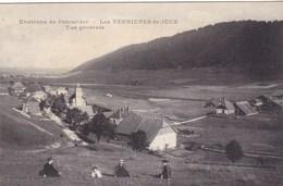 Doubs - Environs De Pontarlier - Les Verrières-de-Joux - Vue Générale - Altri Comuni