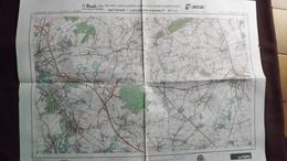 Plan-IGN BELGIQUE   *ANTOING - LEUZE-EN-HAINAUT*   37/7-8.  M834.  1978 - Cartes Géographiques