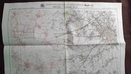 Plan-IGN BELGIQUE   *HERTAIN - TOURNAI*   37/5-6.  M834.  1978 - Cartes Géographiques