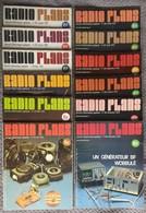 Radio Plans Année 1979 Complète 12 Numéros - Electronique Loisirs - Composants