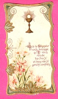 18 VIERZON - IMAGE PIEUSE.PREMIERE COMMUNION  MARCELLE CHARBONNIER  Eglise DE VIERZON  24 MAI 1908 - Images Religieuses