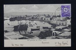 TURQUIE - Affranchissement De Thyr ( Syrie ) Sur Carte Postale Pour La France En 1905 - L 20745 - 1858-1921 Empire Ottoman