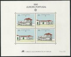 CEPT 1990 Portugal Yvertn° Bloc 72 *** MNH Cote 11 Euro - Blocchi & Foglietti