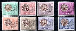 France Frankreich Vorausentwertungen Y&T Préo 138** - Préo 145** - Vorausentwertungen