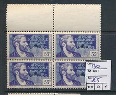 AEF FRANCE LIBRE MAURY DALLAY 130 MNH SANS CHARNIERE - A.E.F. (1936-1958)