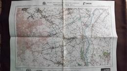 Plan-IGN BELGIQUE   *TEMPLEUVE - PECQ*   37/1-2.  M834.  1978 - Cartes Géographiques