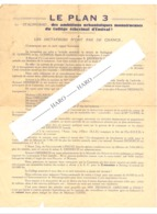 TOP - ENSIVAL(Verviers) - Lettre D'information Virulente Contre Le Plan 3 Du Bourgmestre Et De 2 échevins En 1957 (b243) - Vieux Papiers