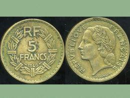 FRANCE  5 Francs 1946  LAVRILLIER - France