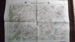 Plan-IGN BELGIQUE   *MAINVAULT - LESSINES*   38/1-2.  M834.  1992 - Cartes Géographiques
