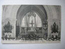 CPA Ramecourt. Aisne. 02.Intérieur De L'église - Frankrijk