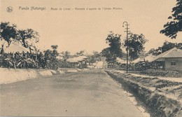 CPA - Afrique - RDC - Congo Belge - Panda - Route De Likasi - Maison D'agent De L'union Minière - Congo Belge - Autres