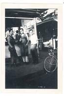 Photo Ancienne Hommes, Vélo ( Le Grand Coulon ? ) - Personnes Anonymes