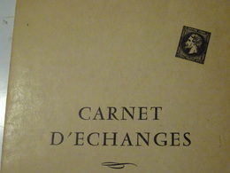 COLLECTION En Album Carnet D échanges Avec Publicité Ville D ANNECY- 56 Timbres MONDE - Collections (en Albums)