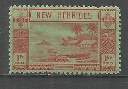 NUEVA HEBRIDES YVERT NUM. 120 * NUEVO CON FIJASELLOS - Leyenda Inglesa
