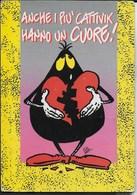 CATTIVIK - VIAGGIATA 1992 FRANCOBOLLO ASPORTATO - Humor