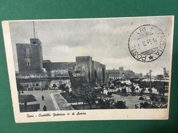 Cartolina Bari - Castello Federico II Di Svezia - 1914 - Bari