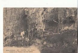 """France 76 -  Dieppe - Les """" Gobes """" Habitation De Pêcheurdans Les Falaises     : Achat Immédiat - Dieppe"""
