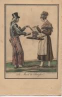 75 PARIS  Petits Métiers De Paris En 1820  : Le Marchand De Saucisses - Petits Métiers à Paris