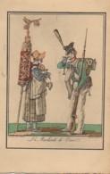 75 PARIS  Petits Métiers De Paris En 1820  : Le Marchand De Coco - Petits Métiers à Paris