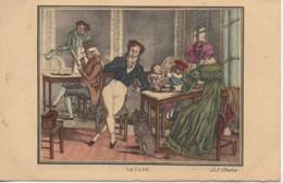 75 PARIS  Petits Métiers De Paris En 1820  : Le Café - Petits Métiers à Paris