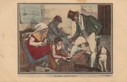 75 PARIS  Petits Métiers De Paris En 1820  : Le Petit Décrotteur - Petits Métiers à Paris