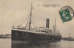 "17 LA PALLICE-ROCHELLE  Paquebot ""Oronsa"" - La Rochelle"