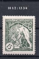 CZECHOSLOVAKIA  1919 , MNH , - Tchécoslovaquie
