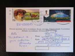 """2016  """" Hund+Stadion """"  Auf Karte, Gut Gestempelt   LOT 1027 - 1992-.... Federatie"""