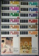 Radio Plans Année 1974 Complète 12 Numéros - Electronique Loisirs - Du N°314 Au 325 - Componenti